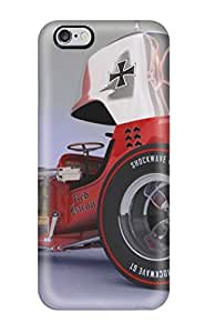 Protective Tpu Case With Fashion Design For iphone 5C (red Baron)