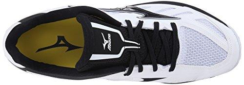 Mizuno Mens Players Trainer Turf Shoe White/Black