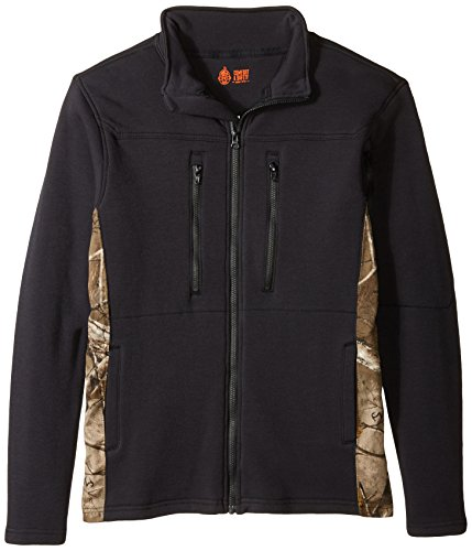 Justin Flame Resistant Men's Polartec Fleece Jacket with ...