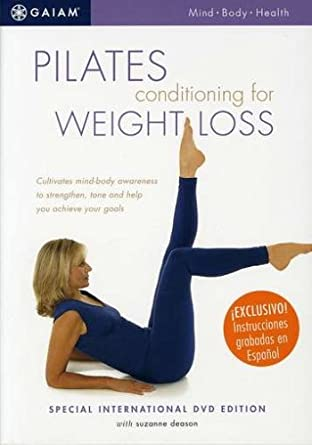 Amazon.com: Pilates Conditioning for Weight Loss: Suzanne ...