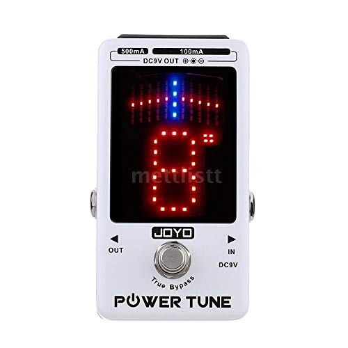 Pedal Afinador e Fonte Joyo JF-18 Power Tune