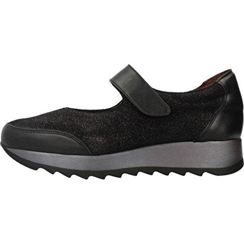 Cordones Modelo Menorca 1281T De TRIMAS de Zapatos Negro Mujer Mujer Negro para Negro TRIMAS Menorca Zapatos Color Marca Cordones para B7qB8xz