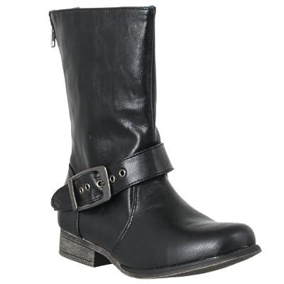 Bamboo Womens Marla Mid-calf Fashion Boots