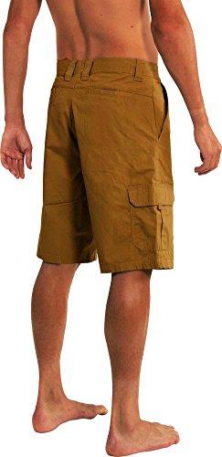 cc85f7abdc NORTY Mens Premium Cargo Shorts - 100% Cotton Twill Or Ripstop Fabric - 10-