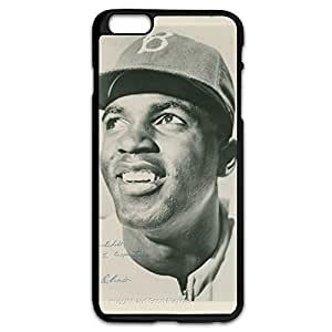 Jackie Robinson Bumper Case Cover For IPhone 6 Plus (5.5 Inch) - Funny Shell
