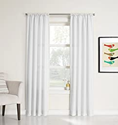 No. 918 Marley Semi Sheer Rod Pocket Curtain Panel, 40\