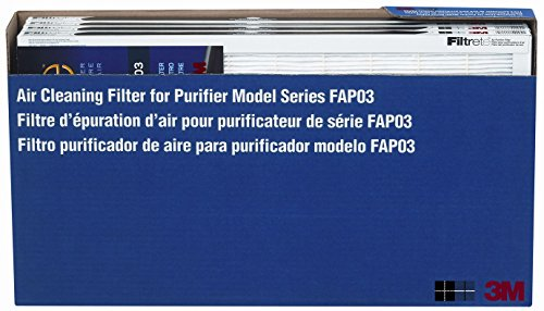 Air Fapf03 - 3M FAP03 Filtrete Air Cleaning Filter, 4 Pack