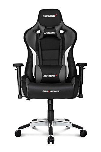 41TmB ci4 L - AKRacing Pro-X Luxury XL Gaming Chair with High Backrest, Recliner, Swivel, Tilt, Rocker and Seat Height Adjustment Mechanisms with 5/10 warranty