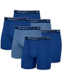 Mens 6 Pack Smart Temp Boxer Brief - New 6 Value Pack (Large, Grey