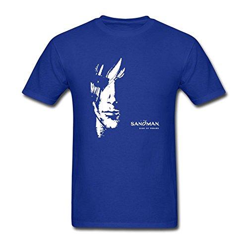- Tommery Men's Sandman Design Short Sleeve Cotton T Shirt