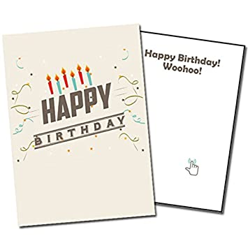 Amazon musical prank birthday card by sing along cards musical prank birthday card by sing along cards bookmarktalkfo Images