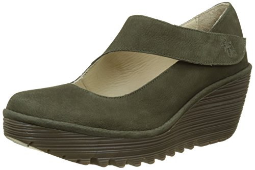 Fly London Women's Yasi682fly Closed-Toe Heels Green (Seaweed) cheap price store prices sale online 100% guaranteed online discount footlocker sale order idcrHK