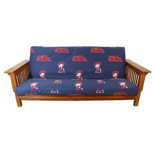 College Covers Mississippi Rebels Futon Cover, Full (Bright Cover Futon)