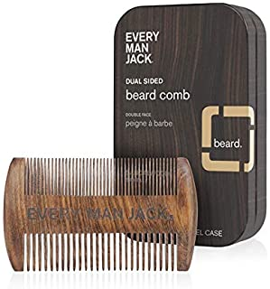product image for Every Man Jack Beard Comb, Woodgrain