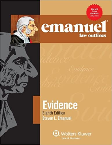 Amazon civil procedure books emanuel law outlines evidence eighth edition fandeluxe Choice Image