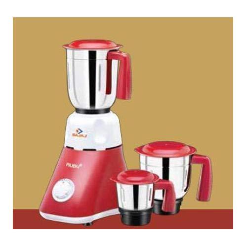 Bajaj Electricals Ltd Ruby Mixer Grinder(Red)