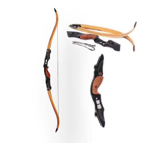 Tauren Hunting 55lb Laminated Recurve Bow Traditional Bamboo