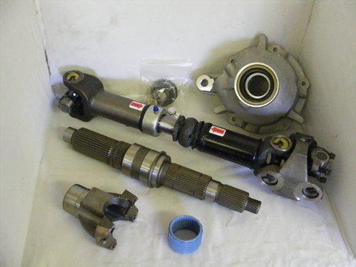 - Jeep 231 J Heavy Duty Slip Yoke Eliminator / SYE Kit 52231 18676.60 & Driveshaft Combo