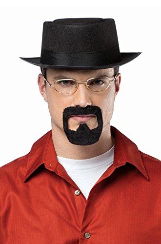 Rasta Imposta Men's Breaking Bad Heisenberg Kit, Black, One - Breaking Costume Heisenberg Bad