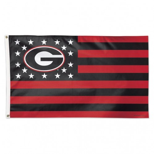 WinCraft NCAA University of Georgia 08058115 Deluxe Flag, 3' x 5'