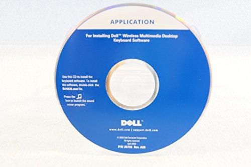 (Dell Driver Application for Installing Dell Wireless Multimedia Desktop Keyboard Software Part Number: U0756 Rev. A00 April 2003-PC Software Program Install Disc)