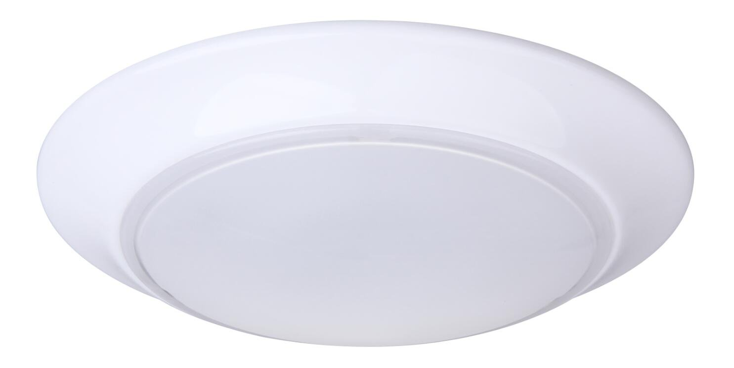 CORAMDEO 7.5 Inch LED Flush Mount Ceiling Light Fixture, 11.5W Replace 75W, 800 Lumen, Dimmable, ETL/ES Rated