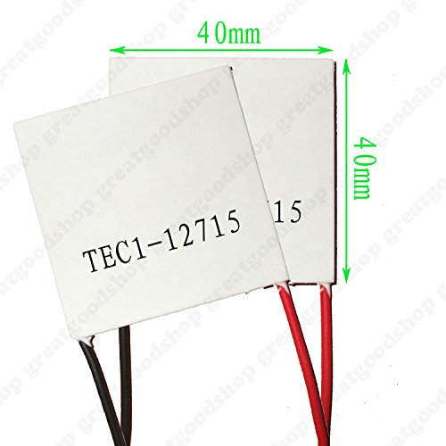 LIPOVOLT TEC1-12715 Heatsink Thermoelectric Cooler Heat Sink Cooling Peltier Module 12V