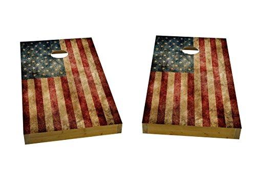 Custom Cornhole Boards American Heavy