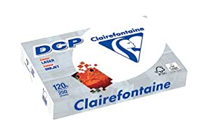 Clairefontaine 1844 DCP - Papel (tamaño A4, 120 g, 250 hojas), color blanco