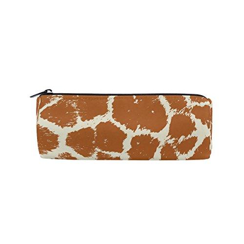 Colorful Animal Skin Giraffe Federmäppchen Pen Tasche Multifunktionale Stationery Beutel Tasche mit Reißverschluss von der imobaby, Student Reißverschluss Bleistift Inhaber Tasche Geschenk Travel Make