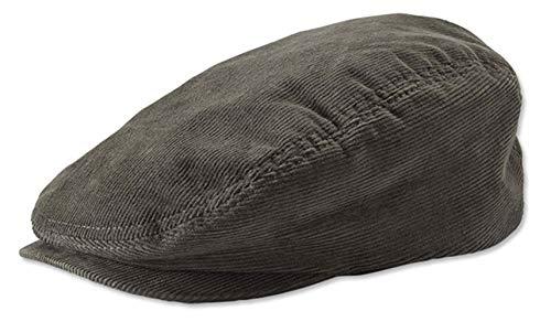 Orvis Men's Corduroy Driving Cap, Olive, X Large