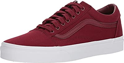 Vans Old Skool Unisex Casual Sneakers, Size 7.5, Color Cabernet