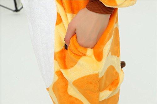 ideali pantofole Fantasia Natale con di novit peluche bianca Kenmont unicorno Regali adulti morbido compatibile Festival Slip on della w7q1dXdc