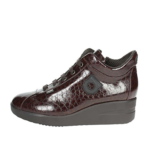 Marron Agile Femme By 226 34Petite Sneakers Rucoline DH9IEWY2