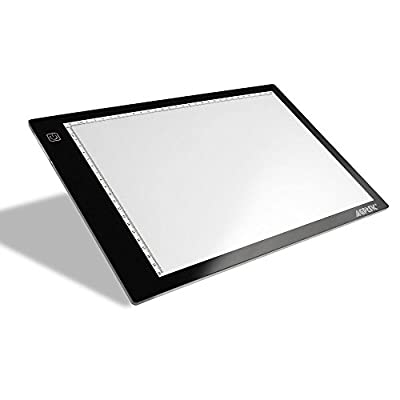 """Tracing Light Box, AGPtek 17""""(A4 Size) LED Artcraft Tracing Light Pad Light Box For Artists,Drawing, Sketching, Animation from AGPtek"""