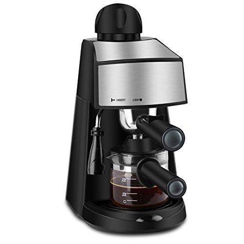 4 cups espresso machine - 6