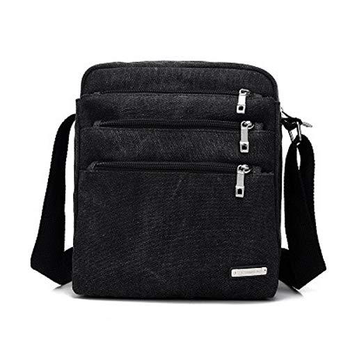 Backpacks Optimized Hhgold Canvas color Vintage Black Green Quality Shoulder Work Laptop Briefcase Package Men's Bag qfTfRx0w