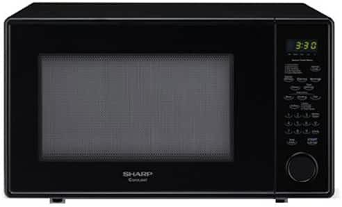 Sharp R559YK Sensor Microwave (1.8 cu.ft.), Black, Standard