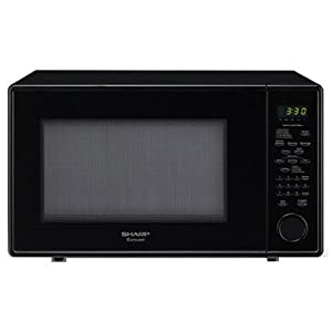 Sharp Countertop Microwave Oven Zr551zs : ... Microwave (1.8 cu.ft.), Black, Standard: Countertop Microwave Ovens
