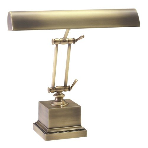House of Troy P14-202-AB 13-Inch Portable Desk/Piano Lamp Antique (Brass Swivel Arm Floor Lamp)