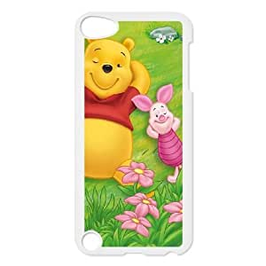 Ipod Touch 5 Phone Case Cartoon Many Adventures of Winnie the Pooh Protective Cell Phone Cases Cover DFJ107304