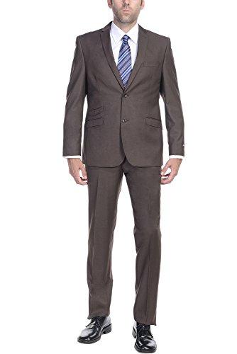 Italian Wool 2 Piece Suit - 8