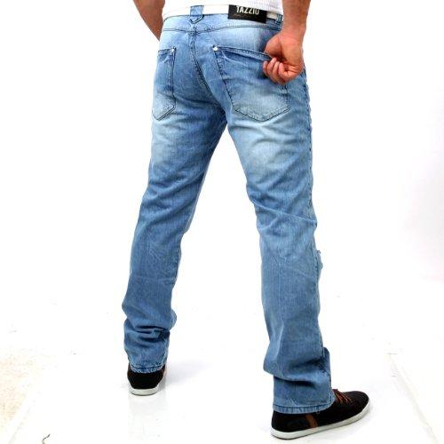 Tazzio Herren Jeans HoseTZ-5156 h-blau