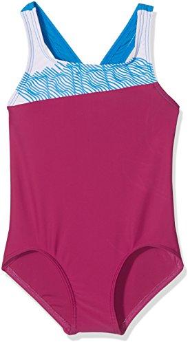 adidas Sb Cb 1pc Bañador, Mujer Rosa (Rosfue / Blanco / Azuimp)