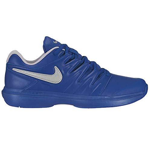 Nike Men's Air Zoom Prestige Tennis Shoes (10 D US, Indigo Force/Metallic Silver/Vast Grey-Leather) ()