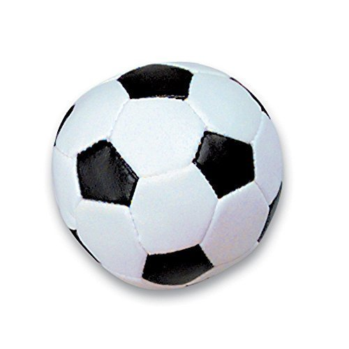(TWO DOZEN 2'' SOFT STUFF SOCCER BALLS -Party Favor-Game Prizes Sports Themed Birthday Parties-Package of)