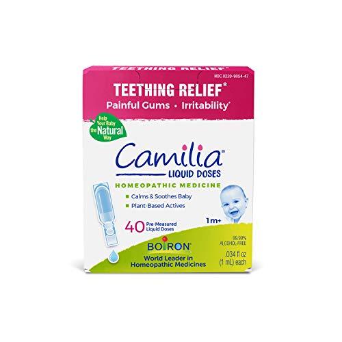 Boiron Camilia Baby Teething Relief Medicine, 40 Count