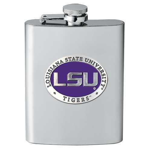 Heritage Pewter LSU Tigers Flask