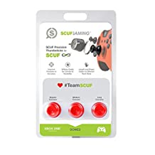 SCUF Precision DOMED RED Thumbsticks