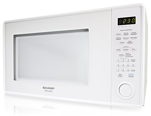 Sharp Countertop Microwave Oven Zr559yw 1 8 Cu Ft 1100w